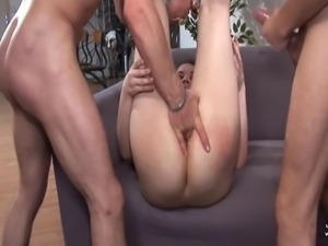 Young Amateur french arab sodomized and double penetrated