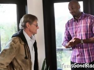 Kasey Warner Loves Black Cock
