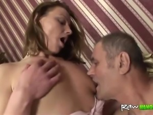 Old fart fucks a young Teen
