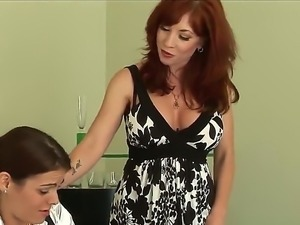Brittany OConnell  is a mature red-haired woman that does her best to seduce...