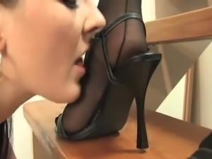 Lesbian Foot Worship - 017