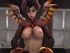 Overwatch Mercy riding (sound) (Howlsfm)