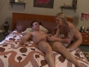 Brooke Banner has her boobies squeezed while getting drilled hard