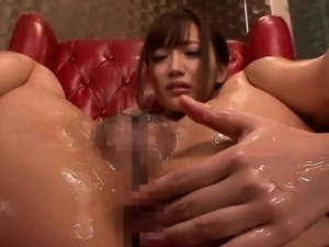 Asian models ass toyed