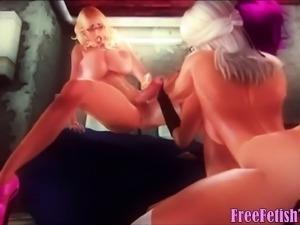 3D Futa Hentai Freaky Gloryhole - FreeFetishTVcom