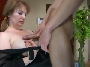 young boy and Hot MATURE Russian1