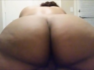 Big Indian Ass having fun - POV Amateur