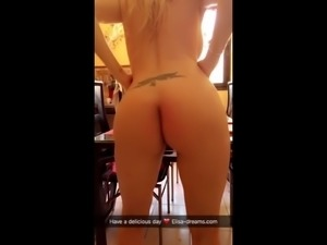 First day in Cap d'Agde. Flashing and Sex