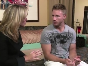 Milf Jodi West Convinces Young Guy To Fuck Her