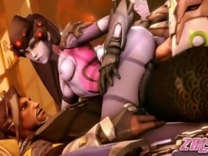 Overwatch SFM: The Very Best Of Widowmaker