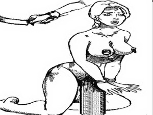 Vintage Cartoon Spank!
