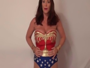 Rachel Steele - Wonder Woman auctioned