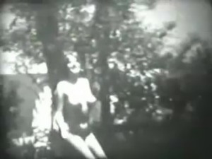 Beautiful Hot Girl Dancing in Garden - Vintage Homemade Video