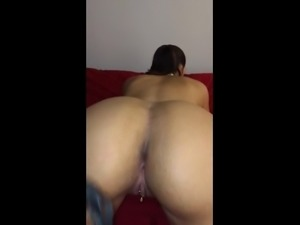 Latina Gets Her ass Whipped (43 Secs)