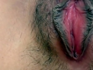 Orgasm Contractions of Shy Japanese Girl