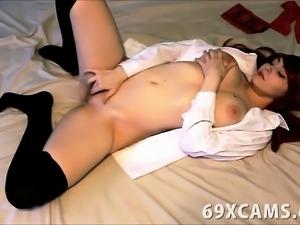 Adorable Shy Redhead Teen Orgasms On Webcam