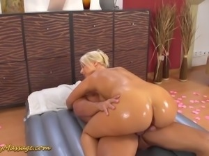 Slippery-massage-channel, Big-cock, Massage, Action, Big-ass, In-ass, Slippery