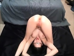 Girl Glasses Squirts On Her Experience