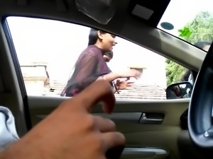 desi dick flash to three girls(car)