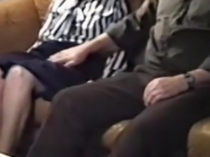 older couple on couch