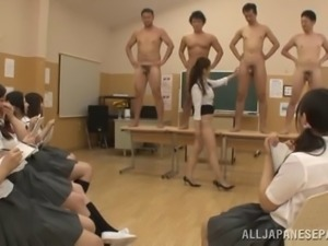 Welcome to a practical biology class in Korea, beware of arousement!