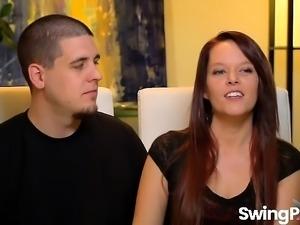 Swinger couples spent all night fucking
