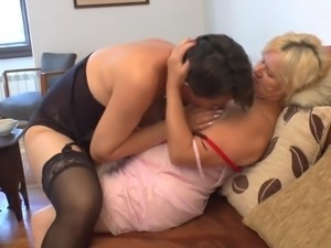 Lucienna and Janice still love the pussy licking after all these years