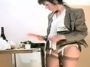 Slut wife with a carrot