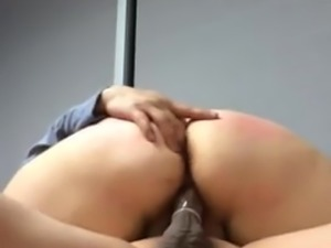 chick fucked at work