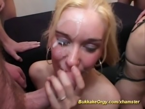 Hookers in big sperm rain