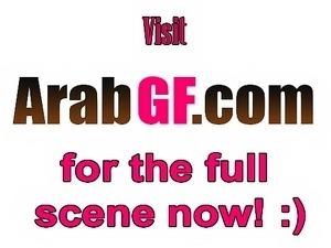 Horny Arab gf fucked on homemade tape