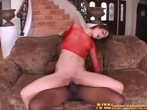 extreme anal fuck skinny young slut with huge black cocks