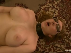 Four kinky girls play with their cunts and get punished for it