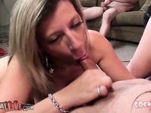 Jennifer White and Sara Jay put their awesome oral talents on display