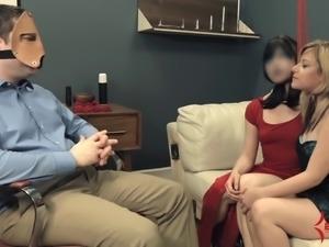 Extreme ass to mouth & ATOGM for nasty bondage sluts