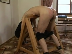 Mistress training a slave