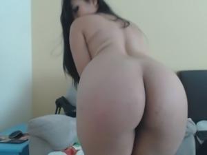 Sexiest Latina Ever On Slutroulette.Org