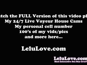 Lelu Love-Caught Maid POV Surprise Creampie