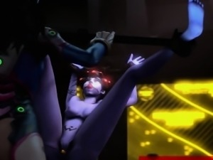 OVERWATCH [ IKstudios ] WidowMaker Bondage Ep 2 Rough Cut