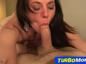 Fucking-hot stockings lady Karen Kougar anal sex