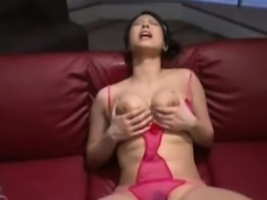 Busty Japan Girl Jizz Shower Bukkake