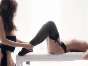 The White Boxxx - Hot European babes in sensual lesbian sex