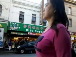 BootyCruise: Chinatown Bus Stop Cam 6 - MILF Cam