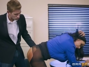 Danny told her HR manager, that he was thinking to quit the job. So she came...