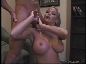 Accepting cougar with big tits pose lovely before giving huge dick stunning...