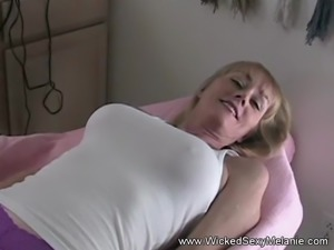 MILF Showing Off Her Pussy