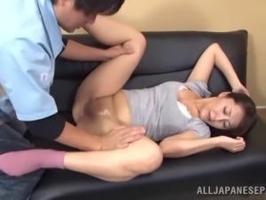 Seductive porn hottie Nao Katoh likes to get nailed hard and doggystyle