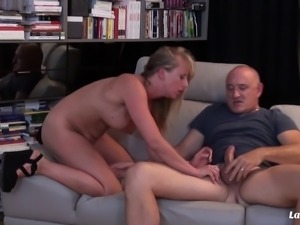 Bruno knows that Stella needs a stiff cock so he gives it to her