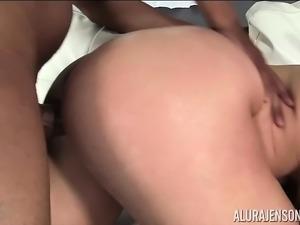 Face Full of Black Cock with Alura Jenson