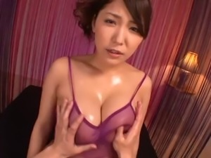 Sassy Asian dame natural tits fondled in hardcore compilations